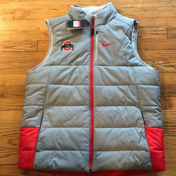 Ohio State Buckeyes Nike Winter Vest Nwt